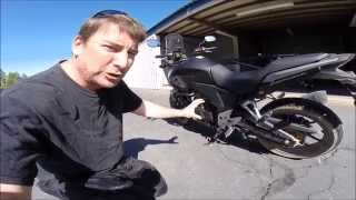 2013 CB500X first impression review + RALLY RAID INFO