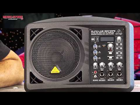Behringer Eurolive B207MP3 Aktivmonitor Lautsprecher mit MP3-Player