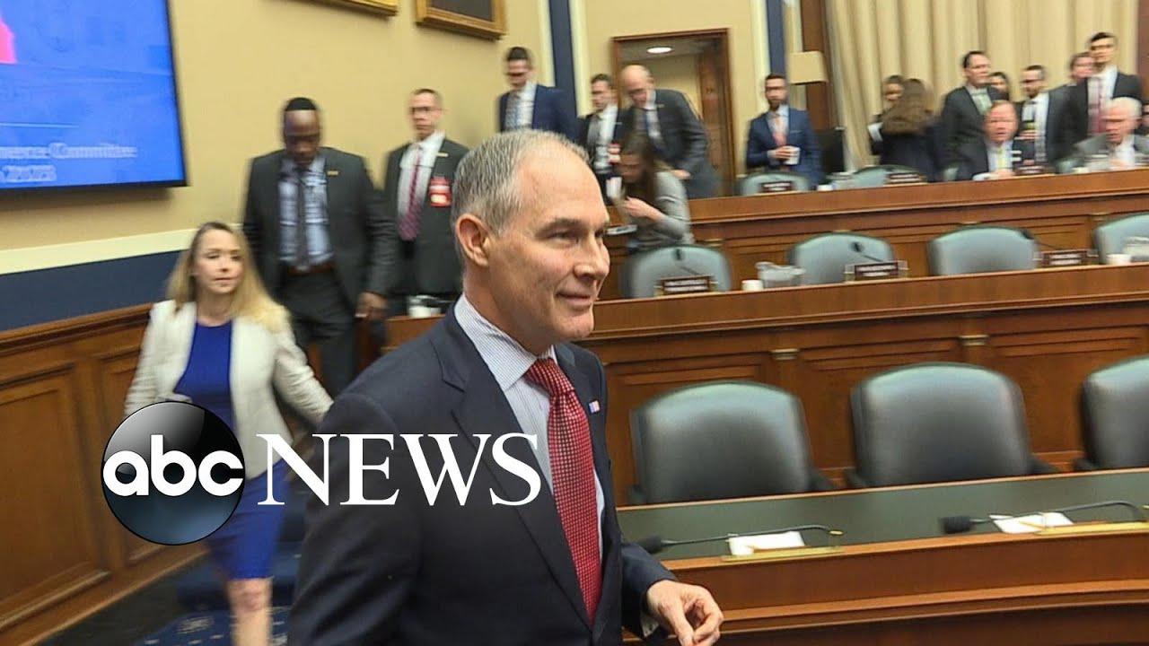 Embattled EPA head Scott Pruitt resigns