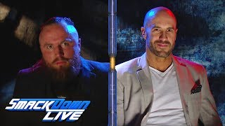 Cesaro answers Aleister Black's Extreme Rules challenge: SmackDown LIVE, July 9, 2019