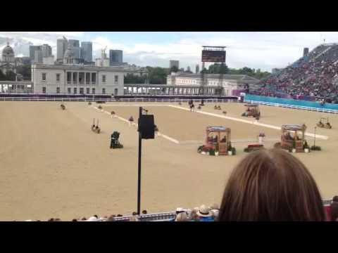 Mark Todd on Campino London Olympics 2012 Dressage