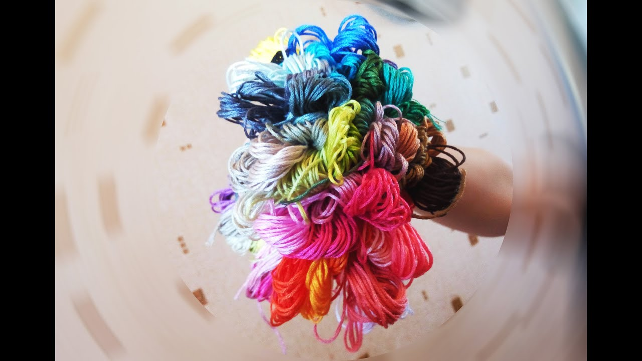 Нитки для вышивки и рукоделия