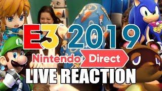 LIVE REACTION to Nintendo Direct E3 2019 - ANIMAL CROSSING NEW HORIZONS AH