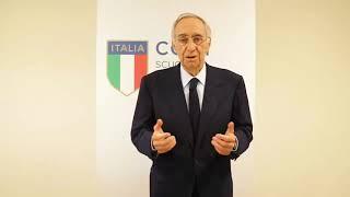 """Franco Carraro al """"Corso di Alta Specializzazione in Management Olimpico"""""""