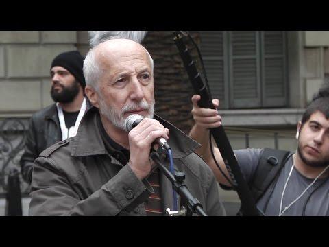 Intervención de Pedro Pablo Peña el 9-N en Barcelona