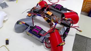 F.T bladeless drone Dragon teaser