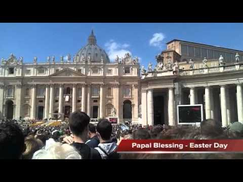 2012 Easter Day Urbi et Orbi Blessing From Pope  Benedict XVI - Saint Peter's Square, Vatican.