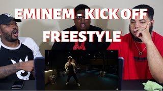"""Eminem - """"Kick Off"""" (Freestyle) - REACTION!!!"""