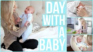 Day in the Life with a Newborn!