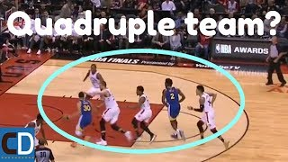 How The Raptors Shut Down The Steph Curry Pick & Roll