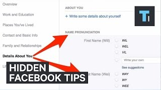 Hidden Facebook tips