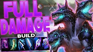 Smite: Cerberus FULL DAMAGE BUILD - THIS NEW ULT IS CRAZY!