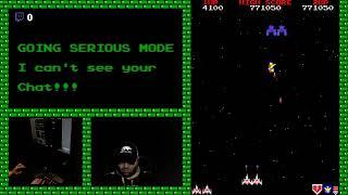 Galaga MAME: Rank D Tournament Serious Mode