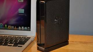 Seagate FreeAgent GoFlex Desktop HDD (On a Mac!): Unboxing & Demo