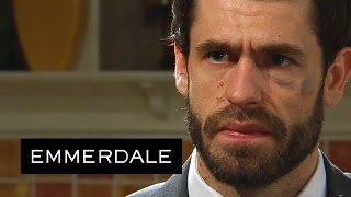 Emmerdale - Robert Says Sorry To Andy For All That He's Done