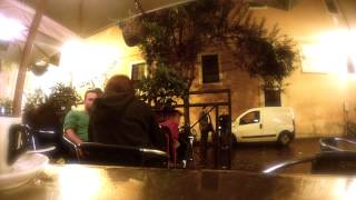 Cafe in Trastevere, Rome