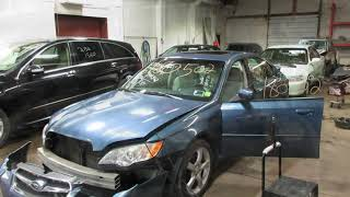 Parting out a 2009 Subaru Legacy parts car - 180502 - Tom's Foreign Auto Parts