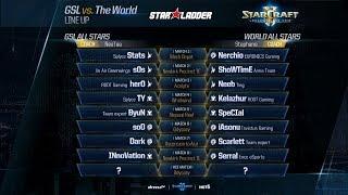 StarCraft II Шоуматч: Сборная Кореи vs Сборная Мира