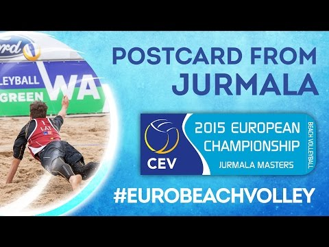'Stars on the Beach' - Postcard from Jurmala Masters