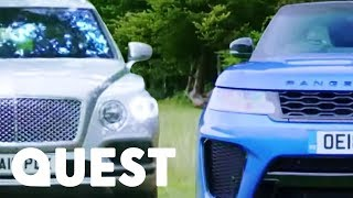 SUV Face Off: Bentley SUV vs Range Rover Sport SVR  | Fifth Gear
