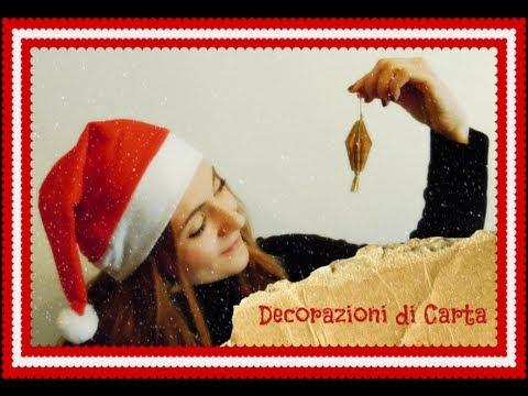 Decorazioni di carta per l'albero di Natale (Fai da Te) – Arte per Te -