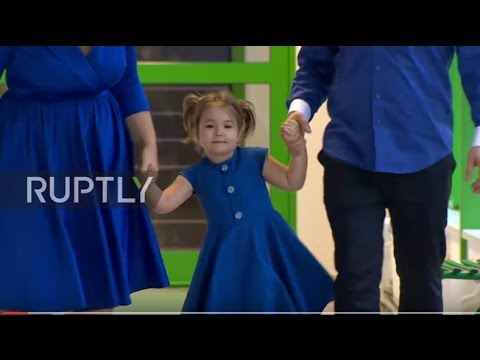 Russia: Four-year-old girl who speaks seven languages stuns RT's Moscow studio