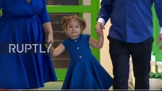 Russia: Four-year-old girl who speaks seven languages stuns RT