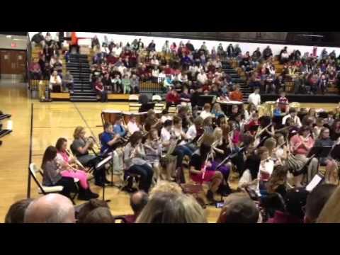 Herrin Middle School Band Concert