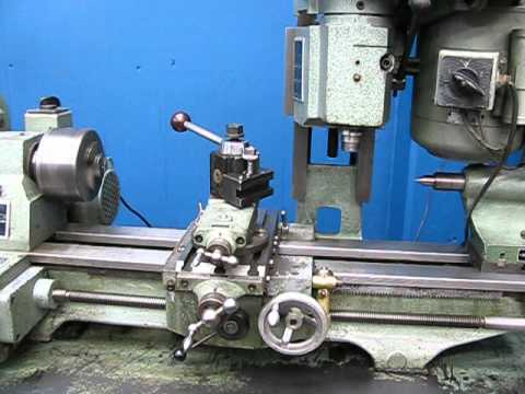 NICE!! EMCO MAXIMAT COMPACT Mk.2 BENCH LATHE w/ VERTICAL MILL ATTACHMENT