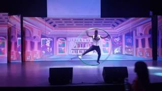 Abdi circus cyr wheel act stage performance 1