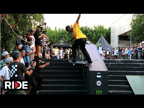 10 Stair Hubba and Rail Contest - Winner Goes to Tampa AM! - Suzano Brazil