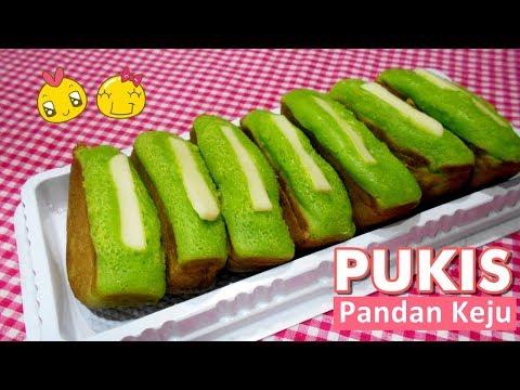 Resep: Kue Pukis Pandan Keju