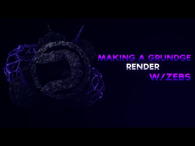 Making a grundge render in C4D| w/ Hayden