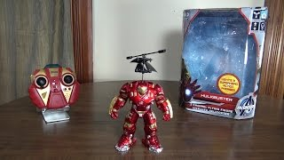 World Tech Toys - Hulkbuster Helicopter - Review and Flight