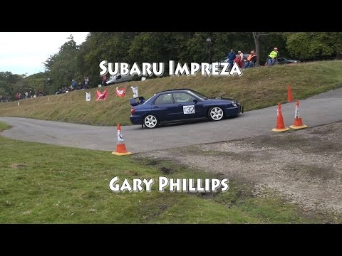 Subaru Impreza At Tregrehan Speed Hillclimb October 2014 Gary Philips