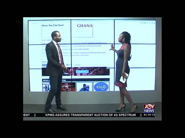 Newspaper Headlines - Joy News (01-12-15)
