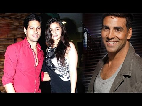 Alia Bhatt and Sidharth Malhotra to play siblings in next, Akshay Kumar to auction for a  charity