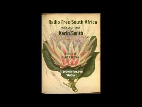 Radio Free South Africa with Schalk van der Merwe  15th November, 2015