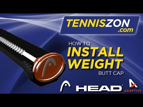 Head Tennis Adaptive: How to install Endcap