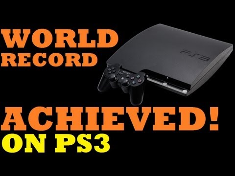 Zombies World Record Run: World Record on PS3 Achieved and an Update!