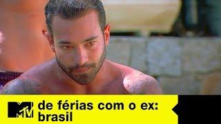 Brunão tira satisfações com quem votou nele na eliminação   De Férias Com O Ex Brasil Ep. 08