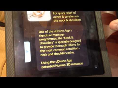Osim Uspace Massage Chair CES 2013] OSIM unveiled uDivine App.'][0].replace('