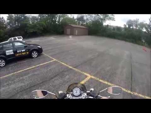 Michigan motorcycle road test