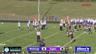 Gordon-Rushville Football at Southern Valley