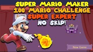So Evil - Super Expert No Skip Challenge - Super Mario Maker