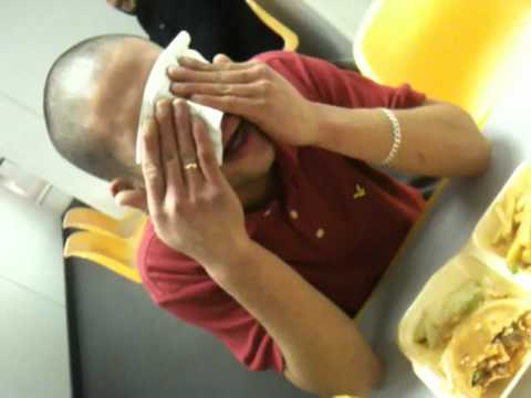 Adam Gimenes - Burger Off  - Worlds Hottest XXX Chilli Burger Challenge
