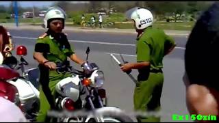 Racing boy Việt Nam đua với cảnh sát giao thông