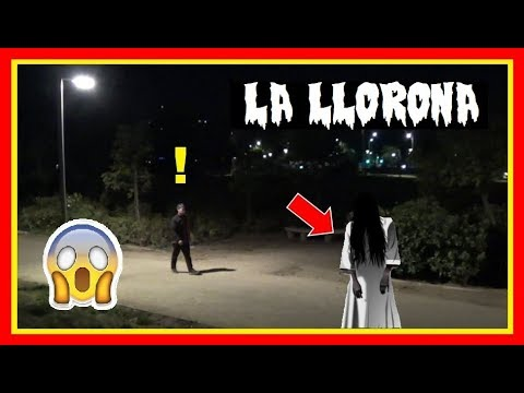 The Witch - Prank | La Llorona - Broma