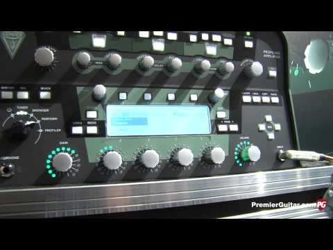 Musikmesse '13 - Kemper Amps Profiler Power Head and Profiler Power Rack