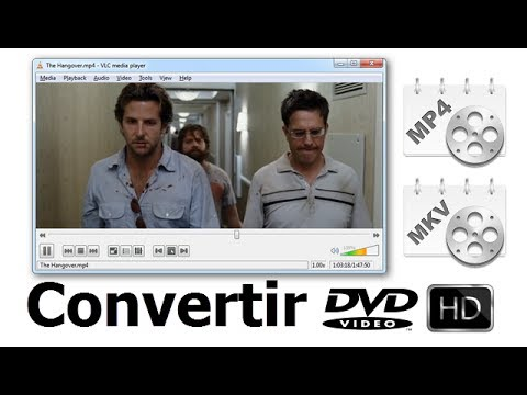 5 Pasos para Convertir DVD a MP4  H.264 HD (Full HD )